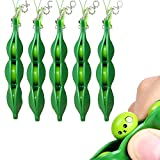 Cute Star Squeeze Bean Toy with Random Facial Expression, Mini Keychain Pendants Healing Toys Squeeze Stress Reliever Phone Decor Gift for Kids Boys Girls Women Men (Pack of 5)