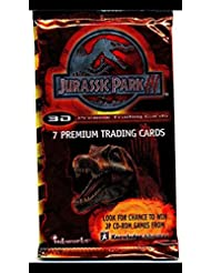 2001 Jurassic Park Sealed Trading Cards (1) Unopened Packs Non-sport Trading Cards