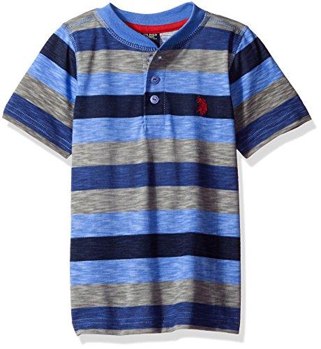 Henley Regatta (U.S. Polo Assn. Little Boys' Printed Slub Henley T-Shirt, Regatta, 4)