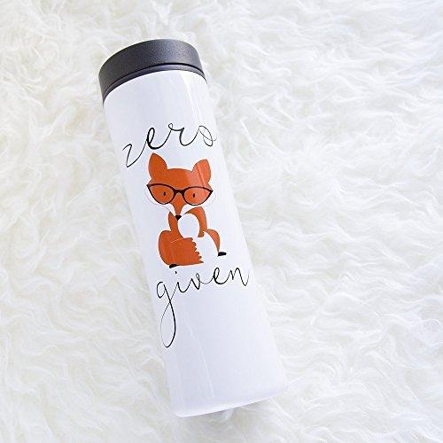 fox-clover-zero-fox-given-16oz-stainless-steel-travel-tumbler-mug