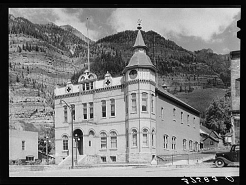 Photo: Elks lodge. Ouray, Colorado