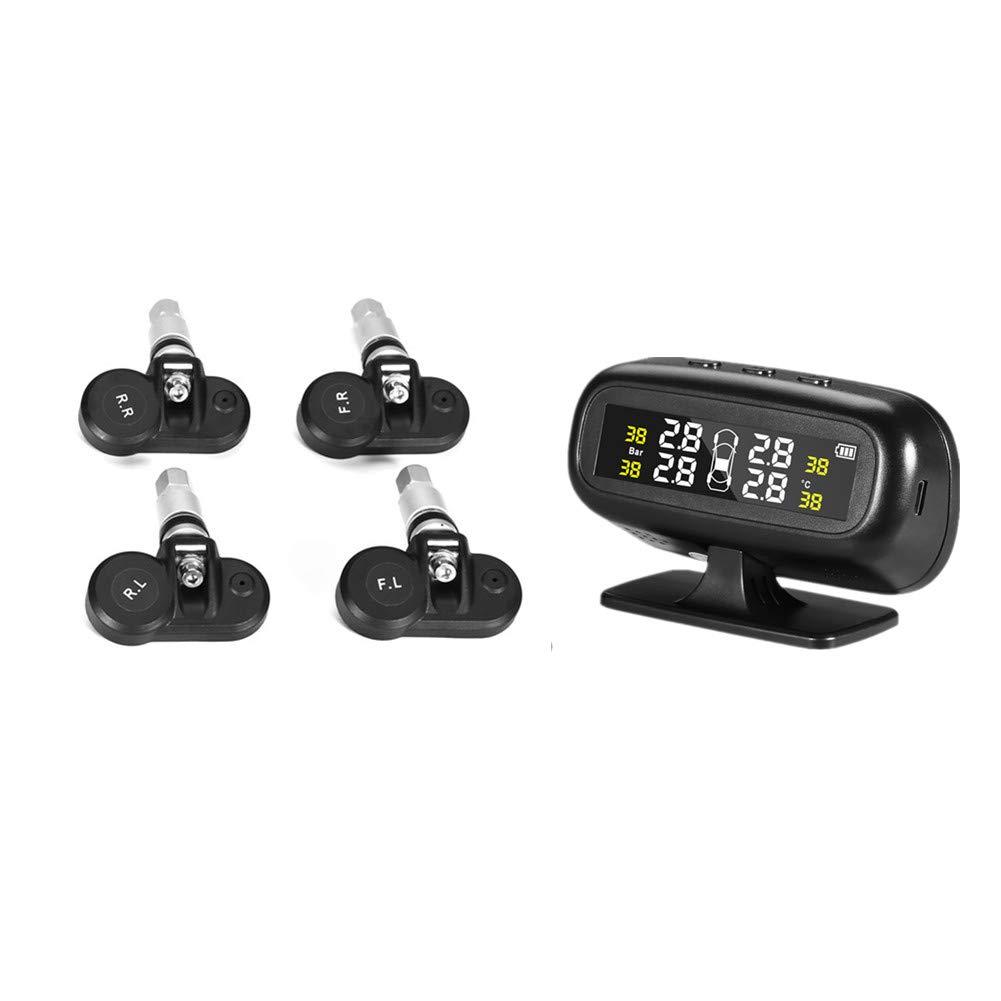 Amazon.com: Sistema de control de presión de neumáticos TPMS ...
