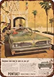 1958 Pontiac Tempest 420E Vintage Look Reproduction Metal Signs 12X16 Inches