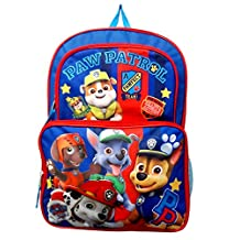 """2017 New Arrive Paw Patrol Chase, Marshall, Tan 16"""" Cargo Backpack"""
