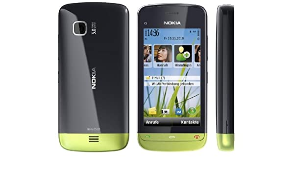 Nokia C5-03 - Smartphone Orange libre (pantalla táctil de 3.2