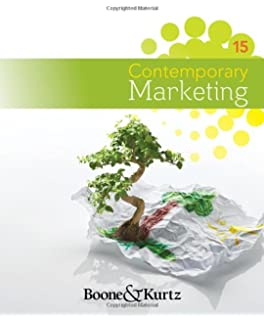Contemporary Marketing 16th Edition Pdf