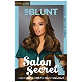 BBLUNT Salon Secret 100 g High Shine Creme Hair Colour with 8 ml Shine Tonic (Light Golden Brown, 5.32)