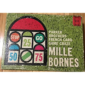 mille bornes parker brothers french auto race card game 1962 vintage unknown. Black Bedroom Furniture Sets. Home Design Ideas