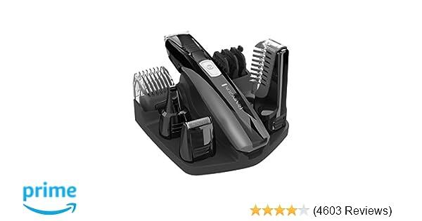 8f947861e0 Amazon.com   Remington PG525 Head to Toe Lithium Powered Body Groomer Kit