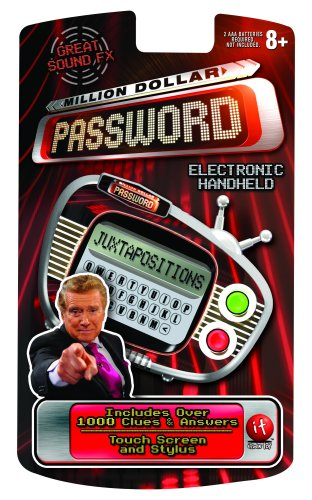 (iToys Million Dollar Password Handheld with Touch)
