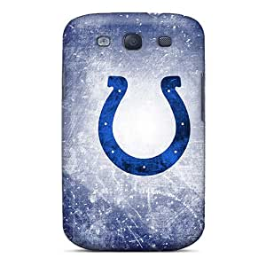 Perfect Hard Phone Cover For Samsung Galaxy S3 With Customized Colorful Indianapolis Colts Pictures IanJoeyPatricia