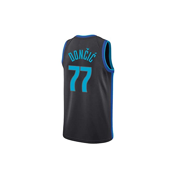 FRYP Doncic # 77 Lone Ranger Jersey de Baloncesto, Camisetas para ...