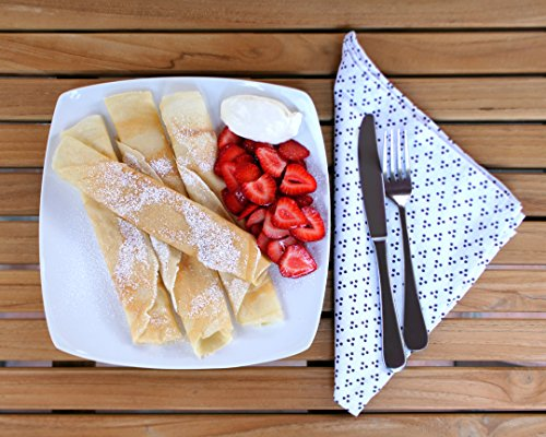 """The ORIGINAL Crepe Spreader and Spatula Kit - 2 Piece Set (6"""" Spreader and 14"""" Spatula) Convenient Size to Fit Large Crepe Pan Maker 