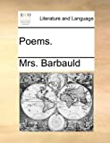 Poems, Barbauld, 1170181309