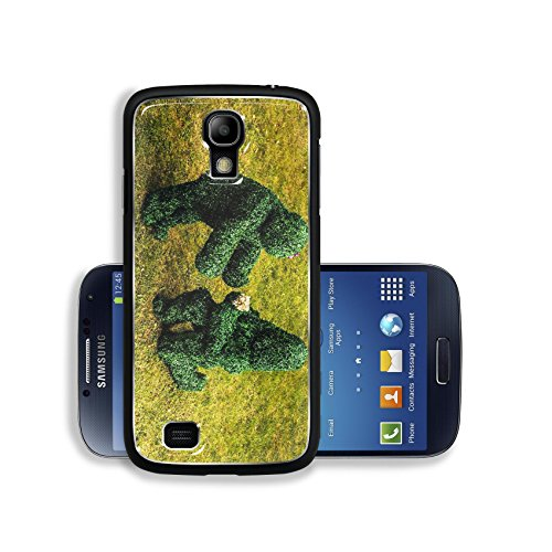Liili Premium Samsung Galaxy S4 Aluminum Backplate Bumper Snap Case IMAGE ID 33046963 Family of live bushes Outdoor fairy tale style