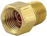 JMF 1/4 in. Flare Brass Inverted Flare Nut