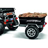 Peg Perego Adventure Trailer Ride On, Black