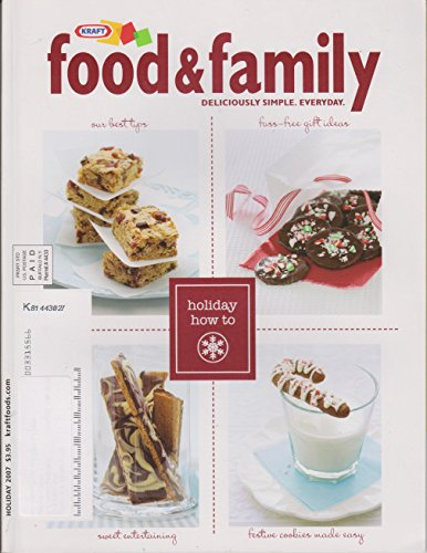 Kraft Food and Family Holiday 2007 (Desserts Easy Christmas Kraft)