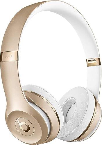 Beats Solo3 Wireless On-Ear Headphones – Gold Renewed