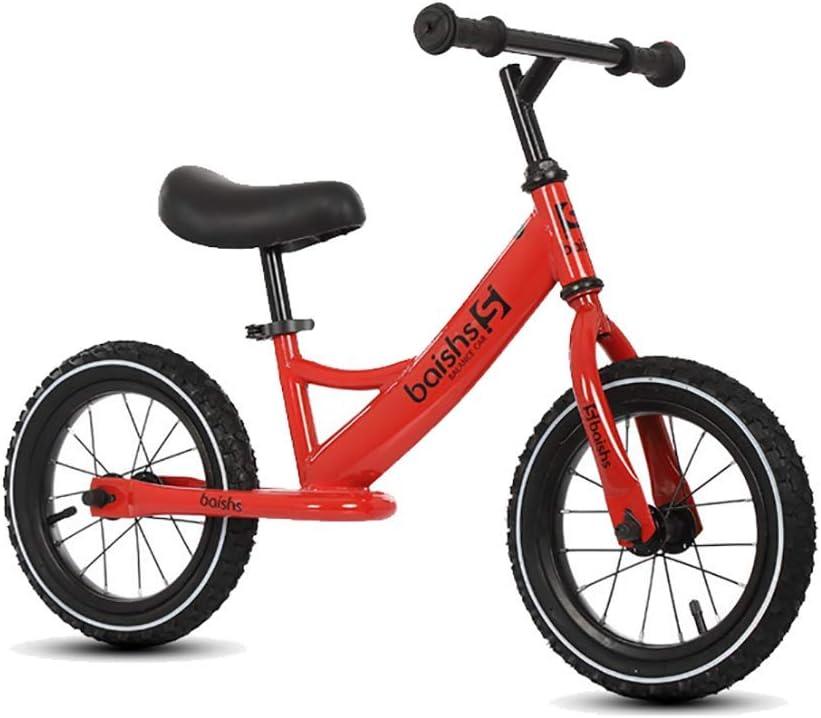 ZNDDB Bicicleta Sin Pedales Bicicleta Ergonómica para Niños De 2-6 Años De Altura, Ultraligera Y Ergonómica De 12 Pulgadas, Estructura De Acero Al Carbono, Rueda Antideslizante,Red: Amazon.es: Deportes y aire libre