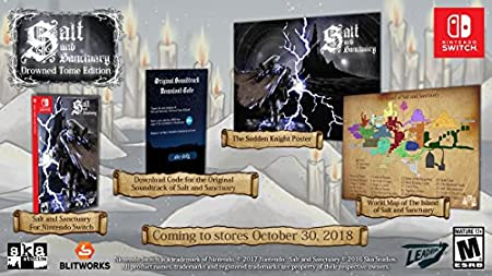 Salt and Sanctuary - Nintendo Switch Drowned Tome Edition