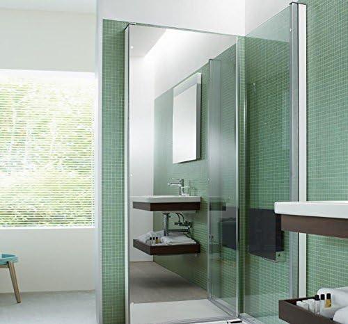Duravit openspace b - Mampara ducha 885x885 espejo izquierdo: Amazon.es: Bricolaje y herramientas