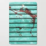 Society6 Wooden Cutting Board, Rectangular, Angry Metal by fernandovieira