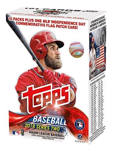 Topps Baseball 2018 Series 2 Mass Value Box from Topps