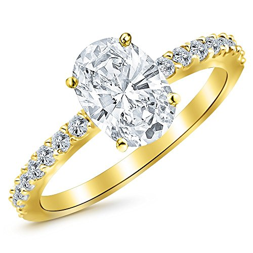 0.5 Ct Oval Diamond - 5