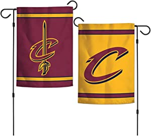 WinCraft NBA Cleveland Cavaliers 12x18 Inch 2-Sided Outdoor Garden Flag