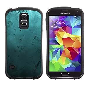 Suave TPU GEL Carcasa Funda Silicona Blando Estuche Caso de protección (para) Samsung Galaxy S5 / CECELL Phone case / / Modern Art Random Blue Turquoise Ocean /