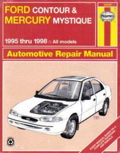 Ford Contour Manual - UH36006 Haynes Ford Contour Mercury Mystique 1995-1998 Auto Repair Manual