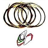 Value Pack - 1 Set Ellora Indian Sitar Complete String Set + 4 Mizrab Plectrums