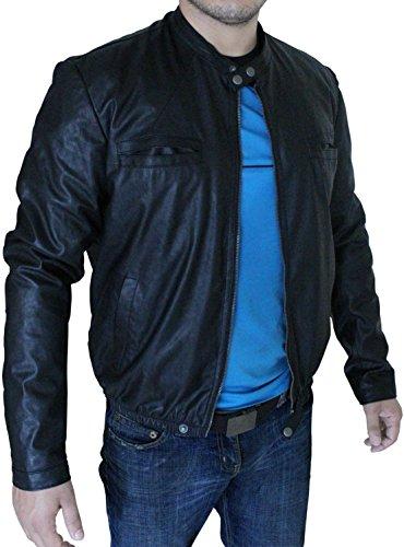New Oblow 17 Again Leather Zac Efron Jacket (XL)