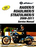 LIT-11616-21-26 Yamaha XV1900 Raider Roadliner Stratoliner S Motorcycle Service Manual 2008-2011