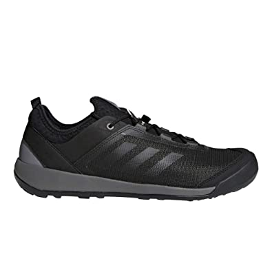 new styles 6dce8 40fac Image Unavailable. Image not available for. Color  adidas outdoor Men s  Terrex Swift Solo Utility Black Black Grey Four Athletic Shoe