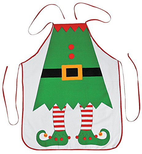 Something Adult holiday aprons interesting. Tell