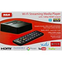 RCA Wi-fi Streaming Media Player DSB772E with 1080p HDMI output by RCA
