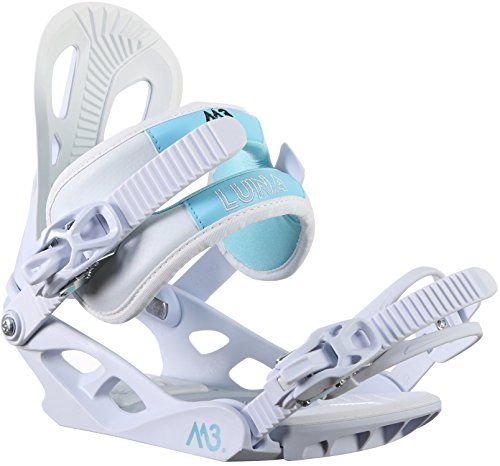 M3 Luna 4 Snowboard Bindings Womens Sz M