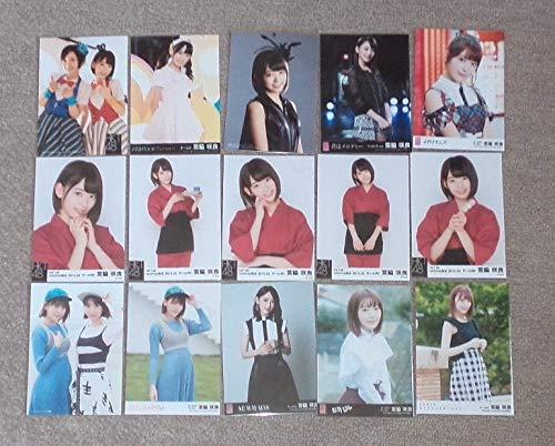 HKT48 宮脇咲良 公式生写真35点AKB48   B07QJX59QQ