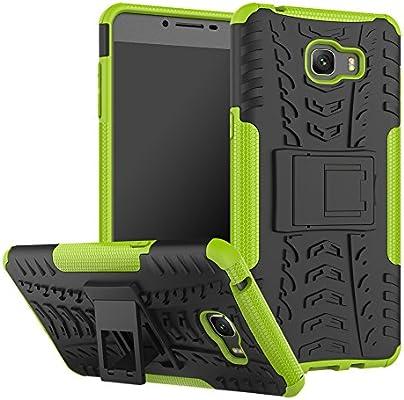 Azihone Samsung Galaxy C9 Pro Funda,360 Grados Protección A Prueba de Choques Cubierta 2in1 TPC Carcasa Skin Case Cover Compatible Samsung Galaxy C9 Pro: Amazon.es: Electrónica