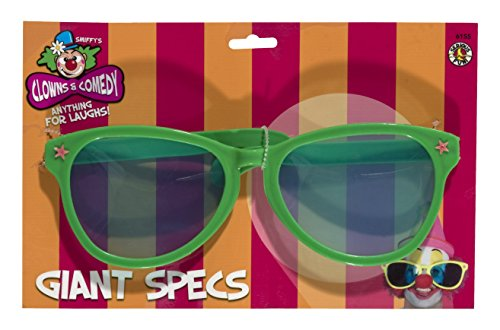 [Smiffy's Men's Giant Sunglasses, Assorted, One Size] (Clown Glasses)