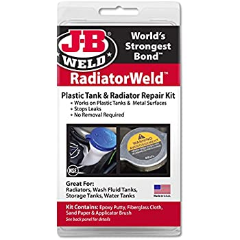 J-B Weld 2120 Radiator and Plastic Repair Kit