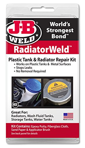 (J-B Weld 2120 Radiator and Plastic Repair Kit)
