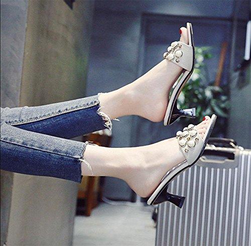 Zapatillas Uk3 Meili 5 Desgaste Mujer 5 Us5 Eu35 Cn35 Perlas d00Twq