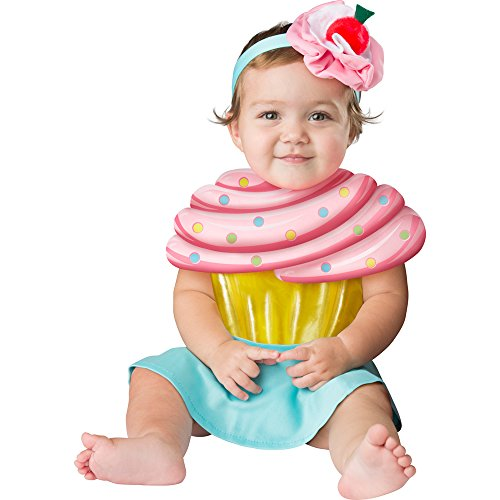 Fun World Baby Girls' Cupcake Cutie, Multi M -