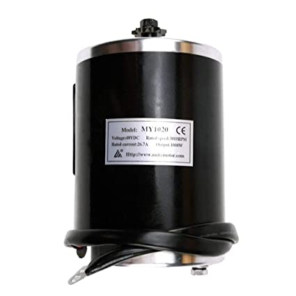 Amazon com: TDPRO 48V 1000W Brush Electric Motor With T8F Chain