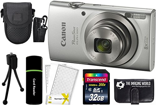 canon-powershot-elph-180-20mp-8x-zoom-digital-camera-silver-32gb-card-reader-case-accessory-bundle