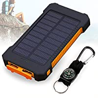 Foreverrise 10000mAh Solar Charger Dual ...