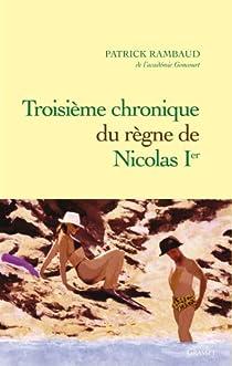 Troisième chronique du règne de Nicolas Ier par Rambaud